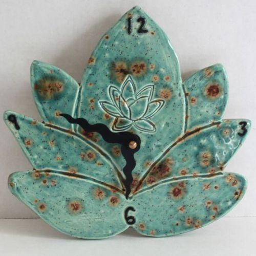 лепка из глины мастер класс Часы керамические в Гончарной мастерской TIS