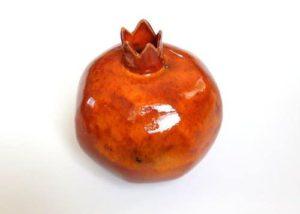 лепка из глины мастер класс керамический гранат в Гончарной мастерской TIS