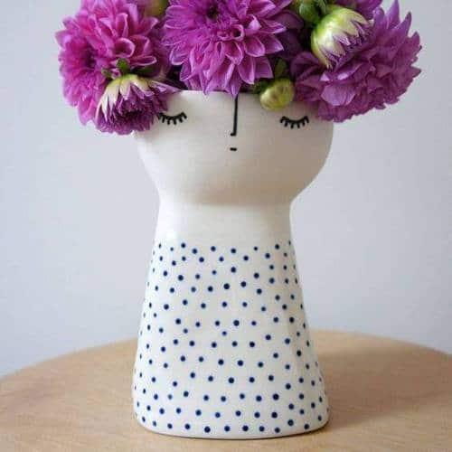 лепка из пласта ваза керамическая
