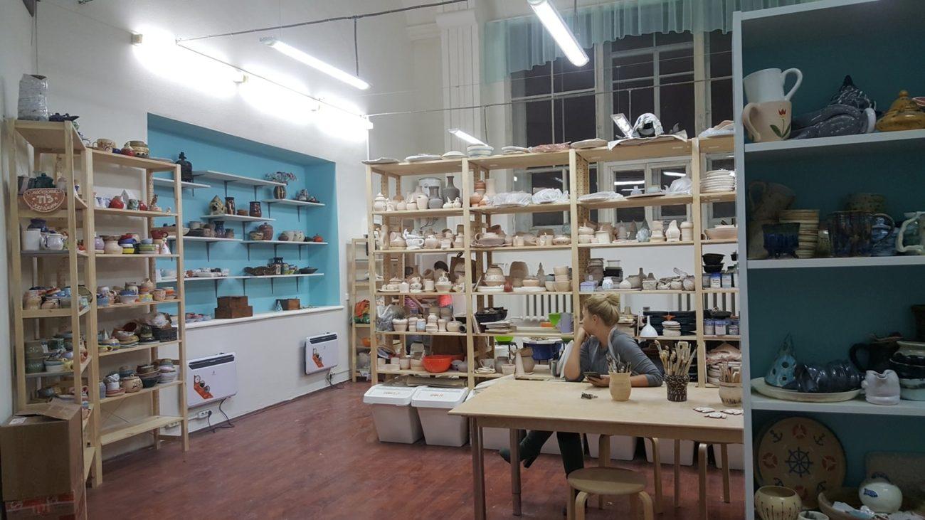 гончарная мастерская и школа керамики в москве метро чистые пруды