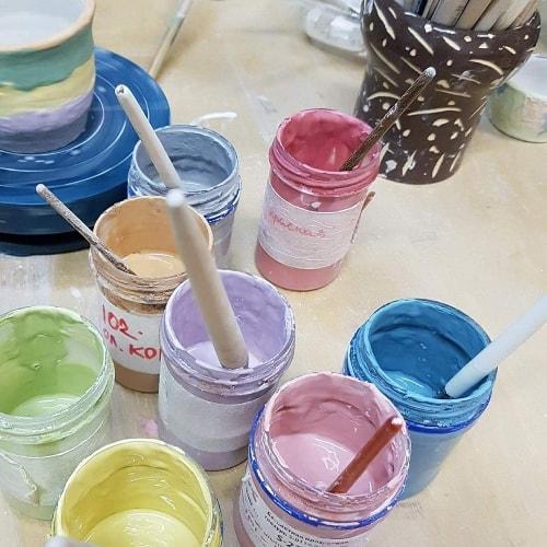 глазурь для керамики мастер класс по гончарному делу москва
